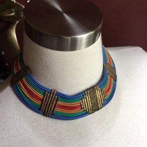 Vintage Boho Style Collar Necklace